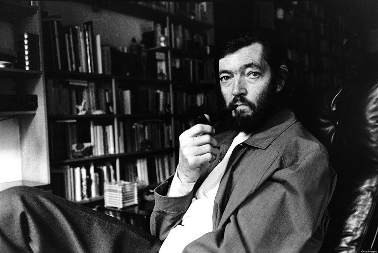PARIS, FRANCE - NOVEMBER 27: Argentinian writer Julio Cortazar poses at home on November 27, 2003 in Paris,France. (Photo Ulf Andersen/Getty Images)