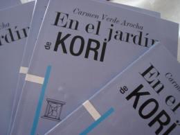 PORTADA DE En el jardin de Kori de CARMEN VERDE AROCHA