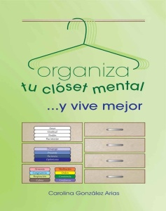 portada organiza tu closet afiche