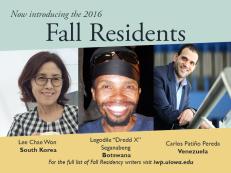 Carlos Patiño - Fall ResidenciesFall Residencies